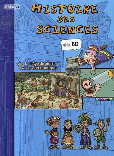 Histoire des sciences en bd 01