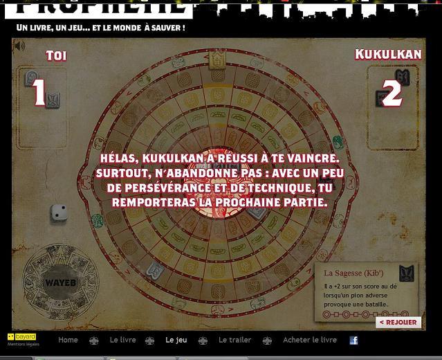 Jeu prophétie en ligne 03