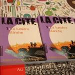 Montreuil 2011 – partie 7 – La Cité, le premier roman pour ados et préados publié par Rue du monde.