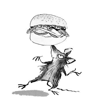 rat and burger