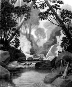 Chroniques Harris Burdick - La harpe