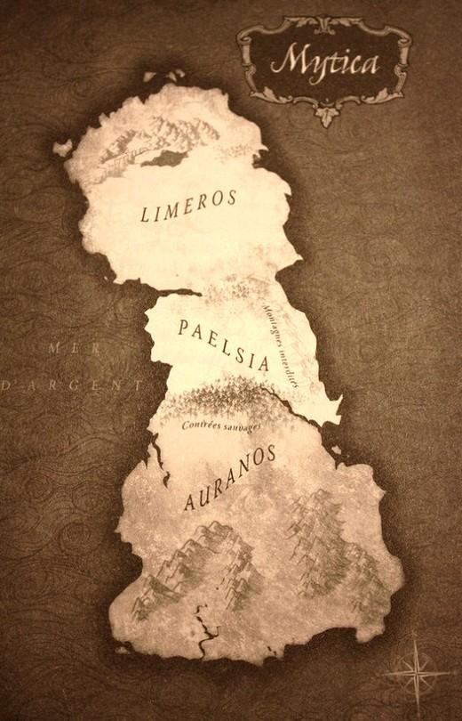 Le dernier royaume carte