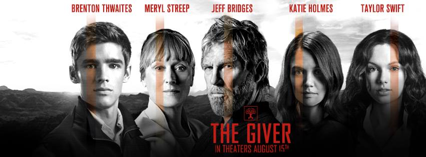 The Giver movie banniere