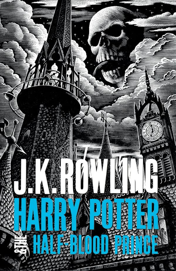 Harry Potter 6 woodcut