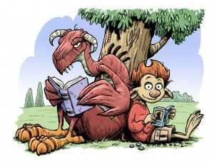 Zarf le troll dragon