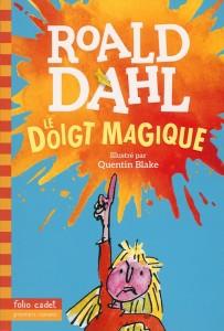 Nouvelles couvertures Roald Dahl Le doigt magique