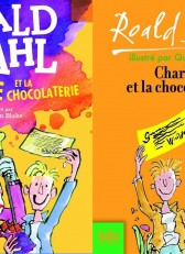ancienne couvertures Roald Dahl Charlie chocolaterie