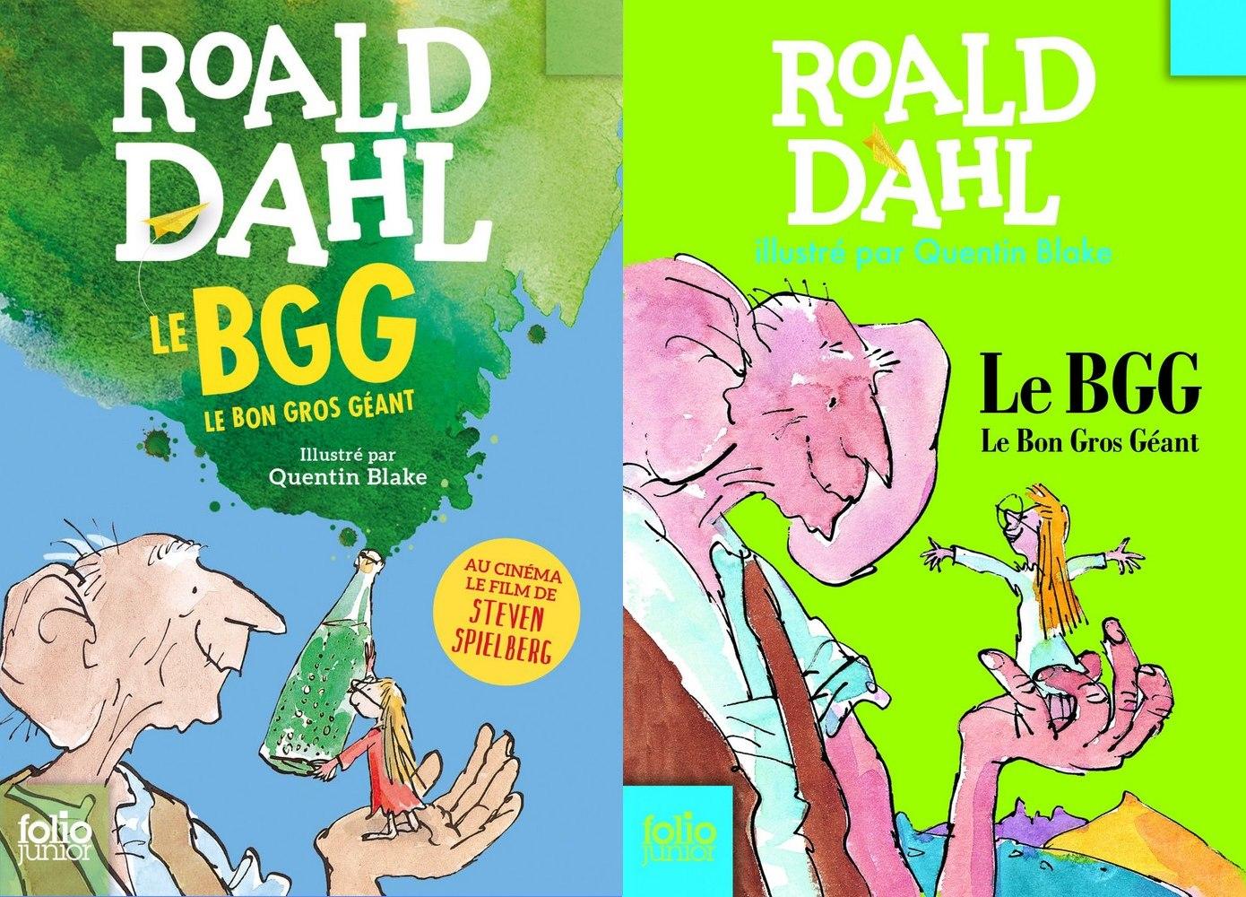 anciennes couvertures Roald Dahl BGG