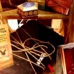 Actualité éditoriale : Les vitrines des librairies Royaumes et Jonas pour la parution de la 8ème histoire de Harry Potter