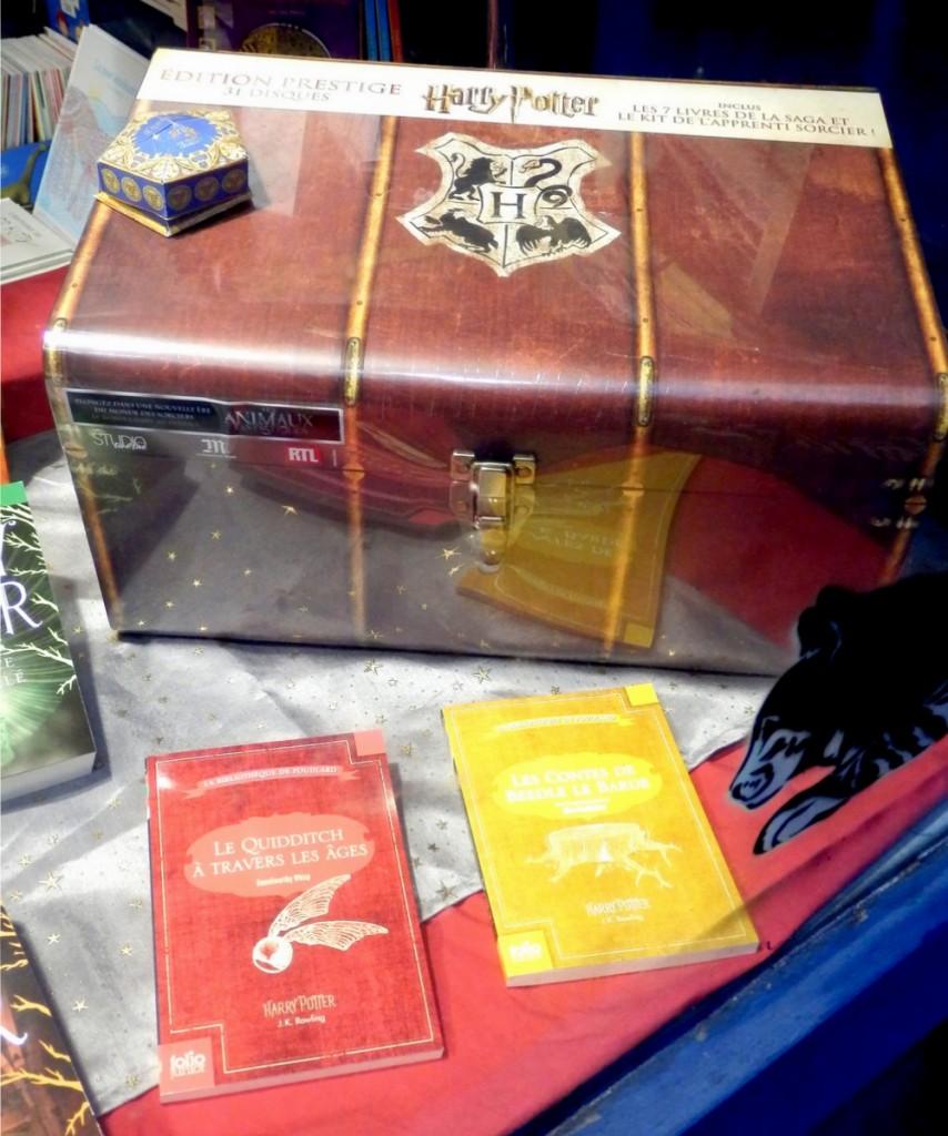 Librairie Jonas - Un coffret en édition limitée avec 31 disques, les 7 romans et un kit de l'apprenti sorcier.
