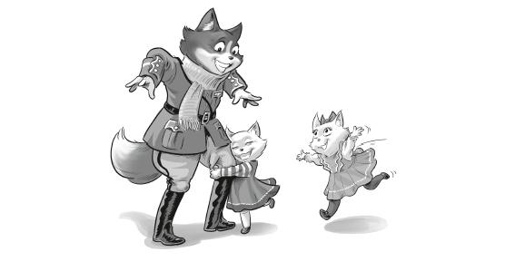 Les Aérochats - Comme chiens et chats - Dessin