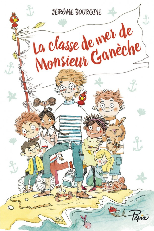 Chronique Jeunesse   La Classe De Mer De Monsieur Gan U00e8che