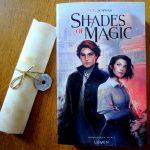 Actualité éditoriale : Un magnifique kit de presse pour le lancement de Shades of magic